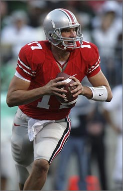 "Ohio State quarterback Todd Boeckman is looking forward to playing at Penn State Saturday night. ""It's definitely going to be a hostile environment, but it's kind of nice going into a place where everyone is against you."""
