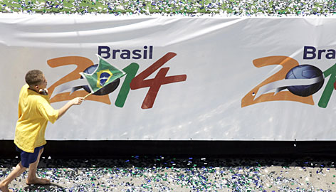 2014 World Cup to Brazil