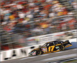 Matt Kenseth pulled off a fourth-place finish at Atlanta Motor Speedway last Sunday and hopes his recent surge can help him climb back into the top 10 in the Chase for the Nextel Cup.