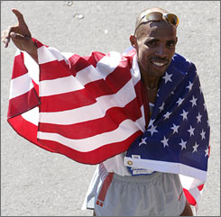 Meb Keflezighi will need to avoid the injury problems that have plagued him in his past two 26.2-mile races if he wants to qualify for Beijing.
