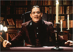 The late Raul Julia as Gomez Addams of The Addams Family fame. Because of an extremely tough schedule, survivor pool players need to be extra careful in Week 9.