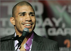 Miguel Cotto feels right at home fighting in Madison Square Garden. Saturday's fight marks the third year in a row he has fought there.