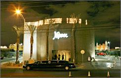 Minxx Gentlemen's Club in Las Vegas.