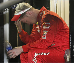 Dale Earnhardt Jr. had a disappointing season, finishing 16th in points and missing the Chase for the Nextel Cup for the second time in three years.