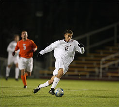 Alejandro Bedoya, a transfer from Fairleigh Dickinson, leads Boston College with 10 assists and has become the focus of the Eagles offense.