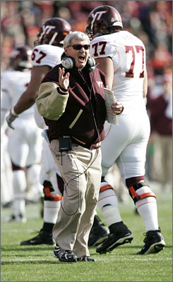 Head coach Frank Beamer and his Virginia Tech Hokies are looking to avenge an earlier loss to Boston College, with a trip to the Orange Bowl on the line.