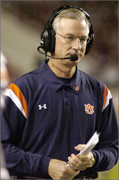 Auburn football coach Tommy Tuberville signed a two-year extension worth $6.6 million. Tuberville is 79-33 in nine seasons as the Tigers' coach.