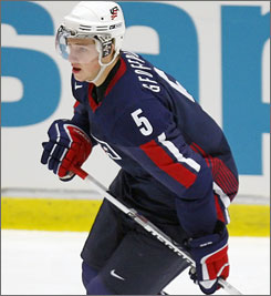 NHL prospect Blake Geoffrion has 14 points through 14 games this season for the University of Wisconsin.