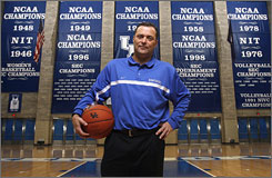 """We're going to work hard, absolutely,"" Kentucky coach Billy Gillispie says. ""You can't attain the success we've had ... without working hard. What do you want to do? Have a country club?"""