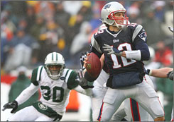 Tom Brady and the Patriots have sweated out close calls in the fourth quarter during three of their last four games.