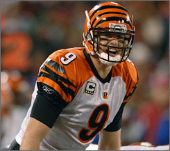 Carson Palmer's Bengals have a lackluster 5-9 season. He faces the Browns' 32nd-ranked defense on Sunday.