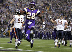 Adrian Peterson and the Minnesota Vikings have won five straight games.