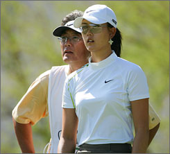Michelle Wie will try to get her game back on track before playing against the men again.