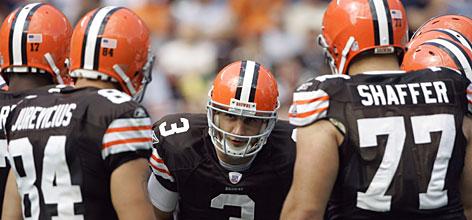 Browns quarterback Derek Anderson hasn't looked back since replacing Charlie Frye early in a Week 1 loss to Pittsburgh. The 24-year-old could lead Cleveland to its first postseason berth since 2002.