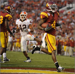 Joe McKnight piled up 206 all-purpose yards in helping Southern California to another Rose Bowl win.