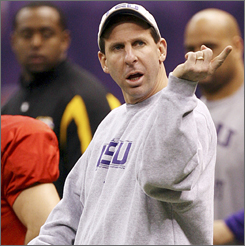 Bo Pelini finishes off his duties at LSU this week before heading to Nebraska to become head coach of the Cornhuskers next season. Meanwhile, he is getting paid by both schools.