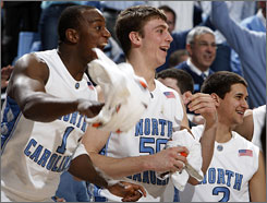 Marcus Ginyard, Tyler Hansbrough, Marc Campbell and the rest of the top-ranked Tar Heels face their first tough conference test on Sunday when they travel to face 19th-ranked Clemson.