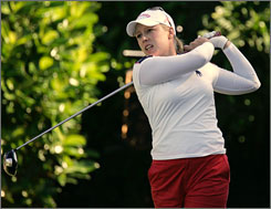 Morgan Pressel finished ninth on the LPGA Tour last season in earnings with $972,452.