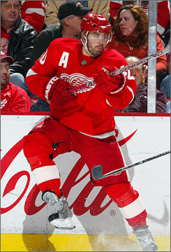 Detroit's Henrik Zetterberg has been the team's MVP as the Red Wings have raced to the NHL's best record. He was named to the starting lineup for the NHL's All-Star game on Tuesday.