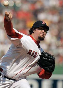 Eric Gagne, who had no saves and a 6.75 ERA in 20 appearances with the Boston Red Sox last September, signed a $10 million contract to close for the Brewers this season. His career ERA is 3.31 and he has three seasons with 40-plus saves.
