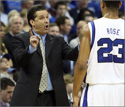 John Calipari says the lure of the NBA isn't what it used to be. Now, with college coaches making the salaries that they do, it's a different ballgame from when he took over the New Jersey Nets in 1996.