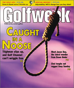 The controversial Jan. 19 cover of Golfweek.