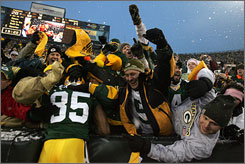 The Packers will be right at home in Sunday's NFC Championship Game, but the Giants may have to endure the elements and the Lambeau Leap.