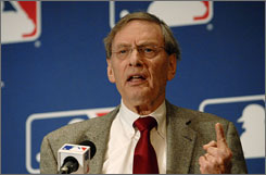 Bud Selig has been MLB commissioner since 1992 when Fay Vincent was forced out by the owners.