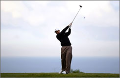 Tiger Woods is among the top players at Torrey Pines hoping to get a feel for how the U.S. Open might play later in the season.
