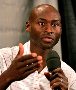 American middle-distance runner Bernard Lagat is one of the prime athletes competing at this weekend's Millrose Games in New York.