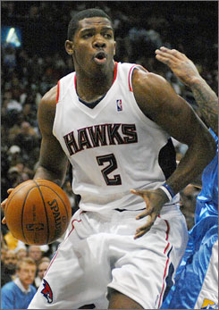 Joe Johnson is an all-star for the second straight season and has guided the Hawks into playoff contention in the Eastern Conference.