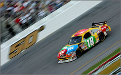 Kyle Busch carried the flag for Toyota in the Daytona 500, leading a race-high 86 of the 200 laps.