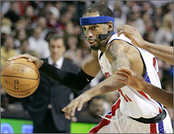 Pistons guard Richard Hamilton is a three-time All-Star and a proven money player in the playoffs.
