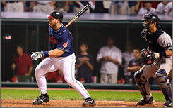 Cleveland's Travis Hafner won Game 2 of the ALDS against New York, but that was one of few postseason highlights for the designated hitter. This year, the Tribe's most powerful bat says he's hoping for a comeback season.