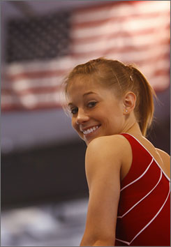 Gymnast Shawn Johnson is expected to impress at the Tyson American Cup. At age 16, Johnson is already being compared to Mary Lou Retton, who became the USA's first all-around women's champion.