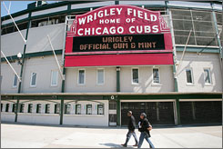 The idea of renaming Wrigley Field has provoked some Cubs fans to speak out against changing the name of the 94-year-old ballpark.