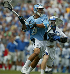 Johns Hopkins has Paul Rabil to anchor its strong midfield as it attempts to repeat as national champion.