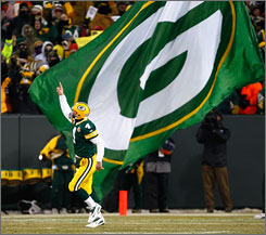 Brett Favre became the face of the Green Bay Packers franchise during his 16 years as the starting quarterback there. Said general manager Ted Thompson of the QB's retirement, &quot;It's a little bit daunting to know you're going forward without Brett.&quot;