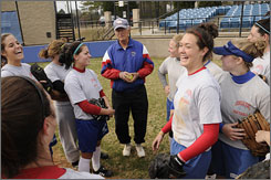 """Bob Heck owns a 605-525-2 record in his 20-plus seasons as Georgia State's softball coach, including a 14-3 mark this season. """"The players get excited to play for him,"""" says Kelly Van Houten, an assistant coach. """"He loves being out there."""""""
