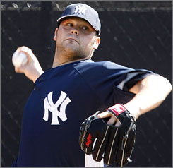 Yankees pitcher Joba Chamberlain is approaching spring training like a starting pitcher until the team makes a decision on how to use him.