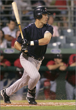 The Twins hope catcher Joe Mauer, shown Feb. 28 in Fort Myers, Fla., will remain healthy and return to the form that won him the 2006 batting title with a .347 average. He hit .293 last season.