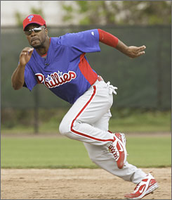 Jimmy Rollins put up all kinds of great numbers last year, but the one he wants to improve is his big-league-high 527 outs.