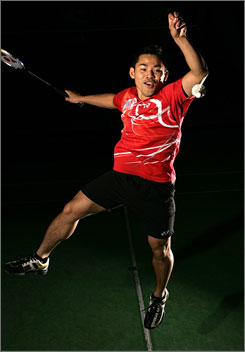 Badminton player Howard Bach is hoping to earn a spot on his second U.S. Olympic team.