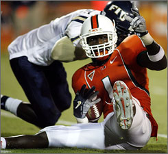 Kenny Phillips may become the next in a string of Miami safeties to become first-round picks.