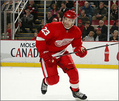 Brad Stuart is expected to miss the rest of the regular season due to a broken finger. The Red Wings think he may be back for the first round of the playoffs.