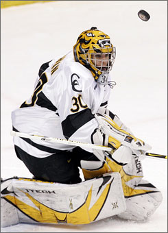 Colorado College freshman goalie Richard Bachman  is just the second player in the history of the Western Collegiate Hockey Association to be named the league's player of the year and rookie of the year.