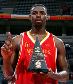 Tyreke Evans has the Wooden Award. What next?