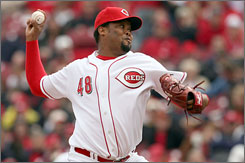 Adding Francisco Cordero gives the Reds a topnotch closer and lets them use last year's closer, David Weathers, as a setup man. Cordero, a 32-year-old Dominican and the Brewers closer in 2006 and '07, was obtained in free agency.