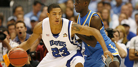 Point guard Derrick Rose has been brilliant for Memphis during its run to the NCAA championship game, averaging 21.4 points a game during the tournament.
