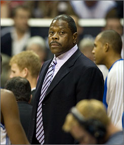 Since his short-lived retirement from coaching in 2006, Patrick Ewing, now an assistant with the Orlando Magic, has been trying to win his first NBA title.